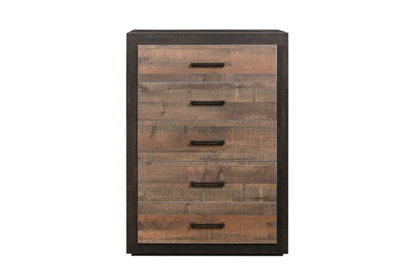 Miter Brown Chest - Luna Furniture