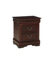 Louis Philip Cherry Nightstand - Luna Furniture