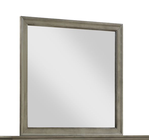 Louis Philip Gray Mirror - Luna Furniture