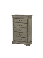 Louis Philip Gray Chest - Luna Furniture