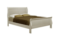 Louis Philip Champagne Queen Sleigh Bed - Luna Furniture