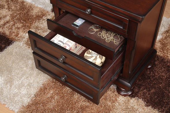 Cumberland Brown Storage Platform Bedroom Set - Luna Furniture