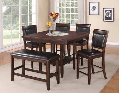 Fulton Dark Brown Counter Height Dining Set | 2727
