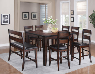 Maldives Dark Brown Counter Height Dining Set | 2760