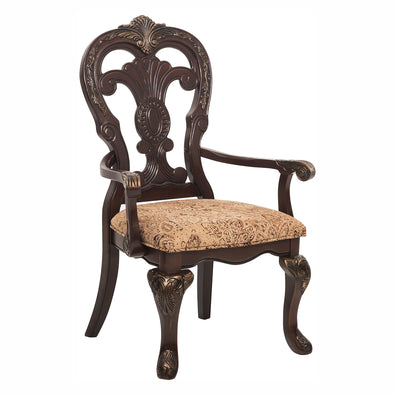 Deryn Park Cherry Arm Chair, Set of 2 | 2243