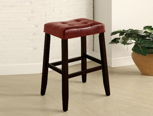 Kent 29″ Red Saddle Chair, Set of 2 | 2987 - Bellaria Furniture HomeStore