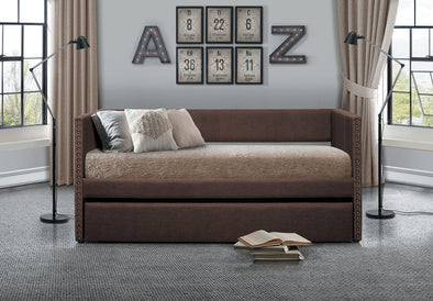 Therese Chocolate Daybed with Trundle | 4969