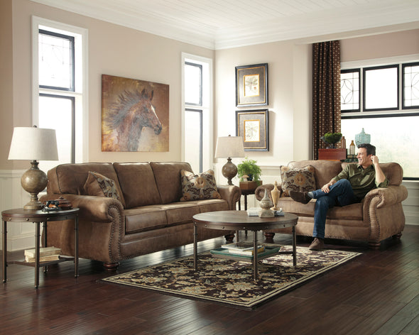 Larkinhurst Earth Living Room Set - Luna Furniture
