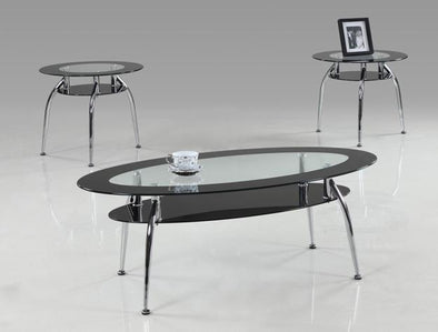 Mila 3-Piece Coffee Table Set - Luna Furniture
