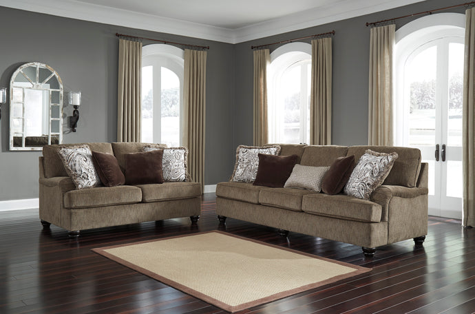 Braemar Brown Living Room Set