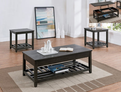 Neil 3-Piece Coffee Table Set (1xCoffee 2xEnd) - Luna Furniture