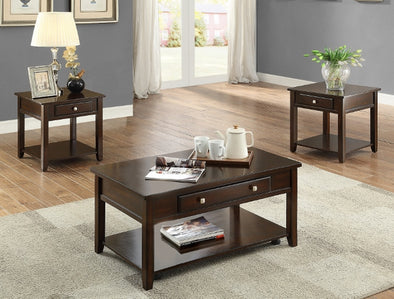 Julian 3-Piece Coffee Table Set (1xCoffee 2xEnd) - Luna Furniture