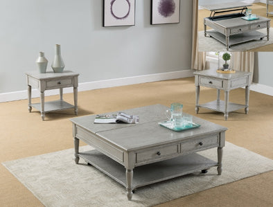 Liberty 3-Piece Coffee Table Set (1xCoffee 2xEnd) - Luna Furniture