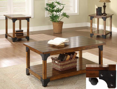 William 3-Piece Coffee Table Set - Luna Furniture