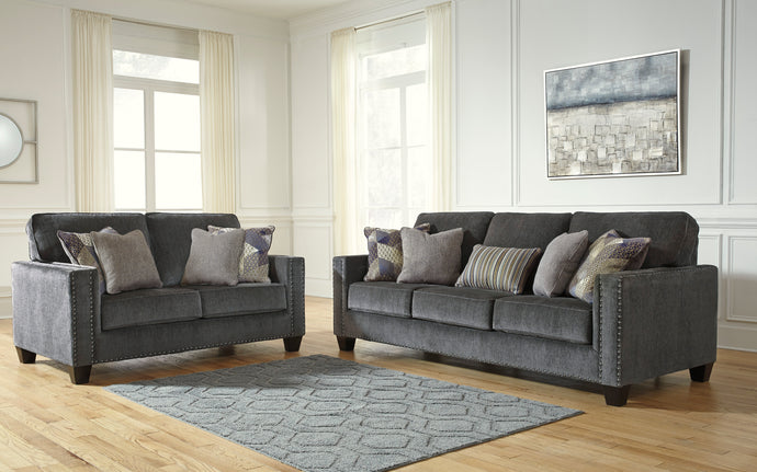 Gavril Smoke Living Room Set