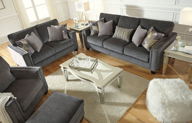Gavril Smoke Living Room Set | 43001
