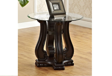 Madison Brown Wood End Table