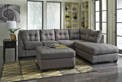 [SPECIAL] Maier Charcoal RAF Sectional - Luna Furniture