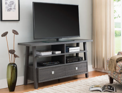 "Jarvis Gray 60"" TV Stand - Luna Furniture"