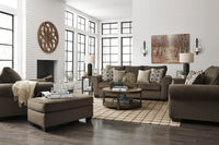 Nesso Walnut Living Room Set - Luna Furniture