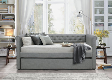 Edmund Gray Daybed with Trundle | 4970