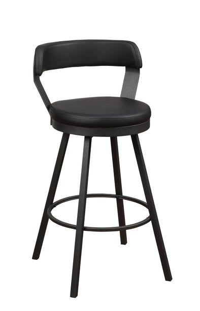 Appert Black Counter Height Chair, Set of 2 | 5566