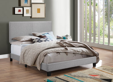 [SPECIAL] Erin Gray Upholstered King Bed | 5271