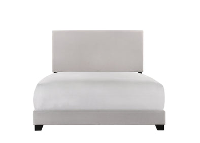 [SPECIAL] Erin Khaki Upholstered Full Bed | 5271 - Luna Furniture