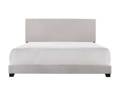 [SPECIAL] Erin Khaki Upholstered King Bed | 5271 - Luna Furniture