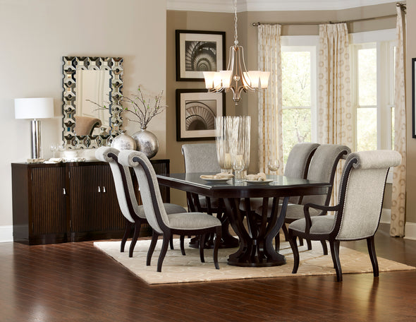 Savion Neutral Side Chair, Set of 2 - Luna Furniture