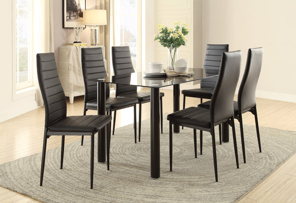 [SPECIAL] Florian Black Dining Set