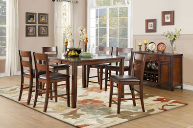 Mantello Cherry Extendable Counter Height Table | 5547