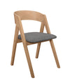 Misa Natural Side Chair, Set of 2 - Luna Furniture