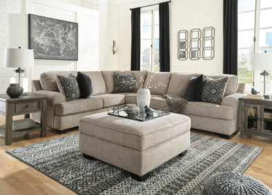 Bovarian Stone LAF Sectional - Luna Furniture