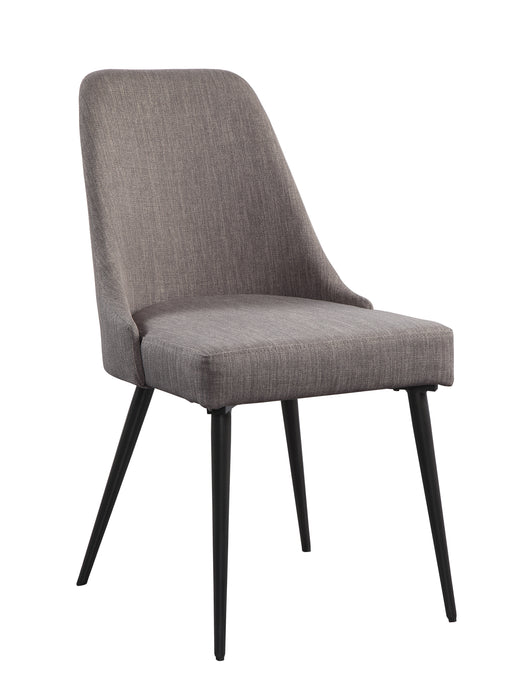 Palladium Gray Side Chair, Set of 2 | 5626