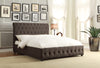 Baldwyn Dark Gray Queen Sleigh Bed - Luna Furniture