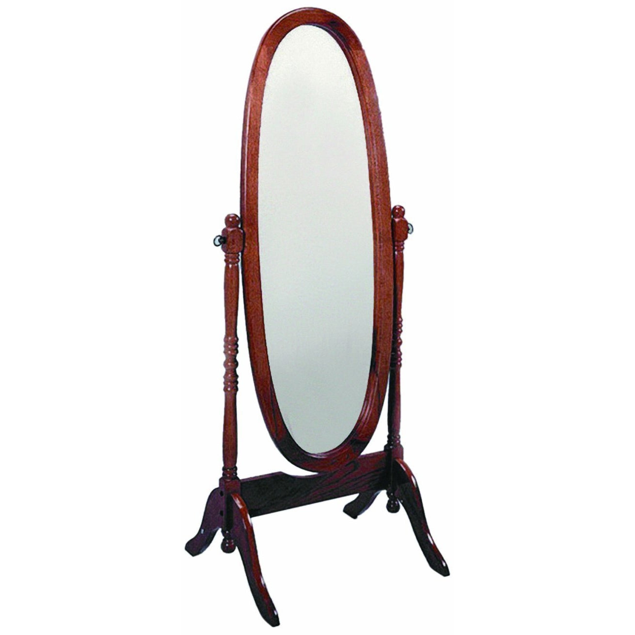 Cheval 2067 Cherry Mirror - Bellaria Furniture HomeStore