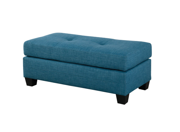 Phelps Blue Reversible Sofa Chaise - Luna Furniture