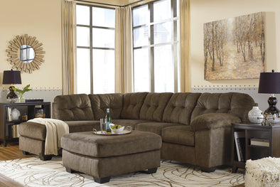 Accrington Earth LAF Sectional - Luna Furniture