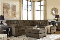 Accrington Earth RAF Sectional - Luna Furniture