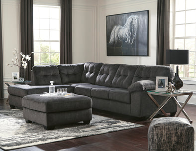 Accrington Granite LAF Sectional - Luna Furniture