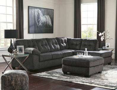 Accrington Granite RAF Sectional - Luna Furniture