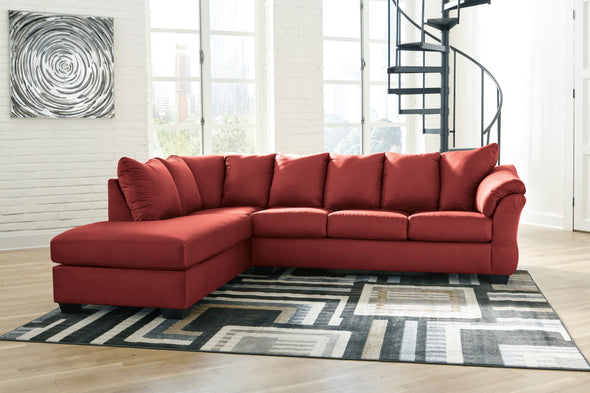 [SPECIAL] Darcy Salsa LAF Sectional - Luna Furniture