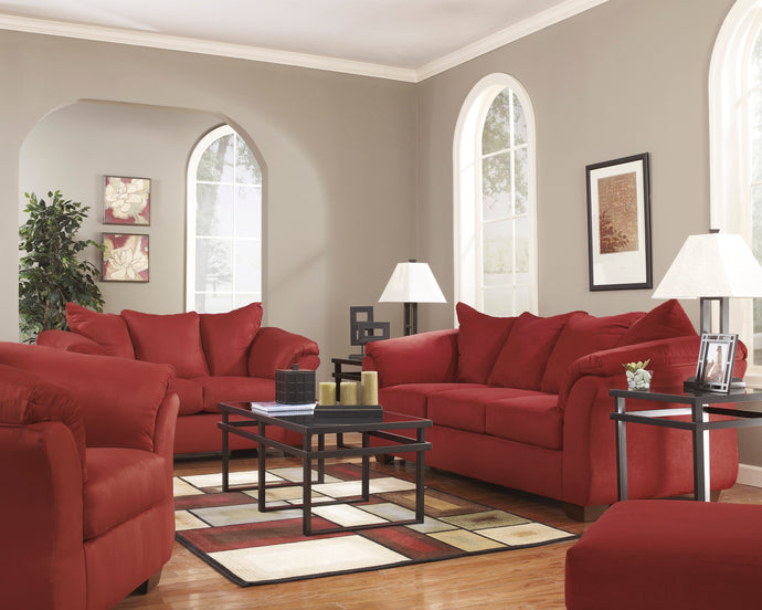 [SPECIAL] Darcy Salsa Living Room Set | 75001