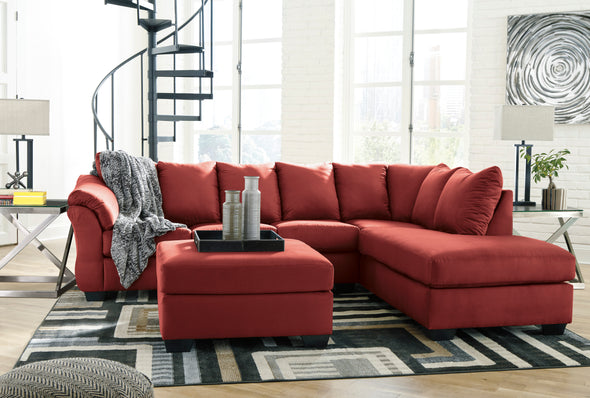 [SPECIAL] Darcy Salsa RAF Sectional - Luna Furniture