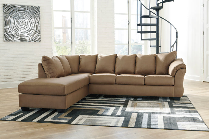Darcy Mocha LAF Sectional