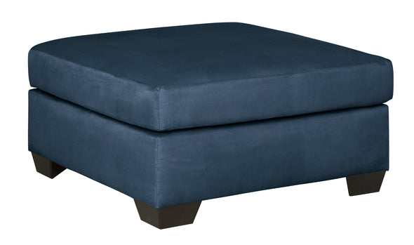 Darcy Blue RAF Sectional - Luna Furniture