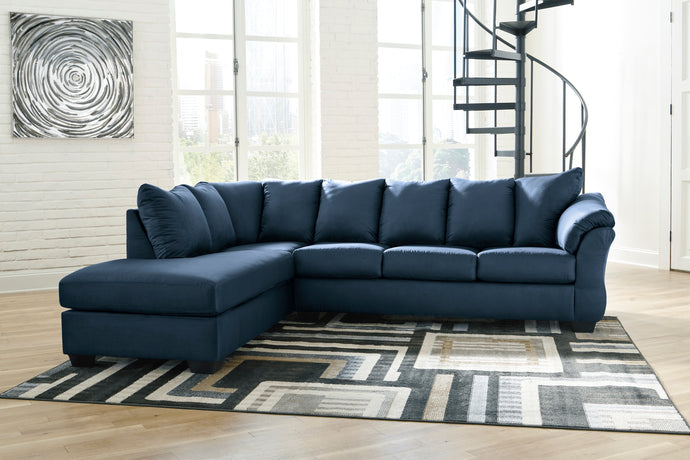 Darcy Blue LAF Sectional
