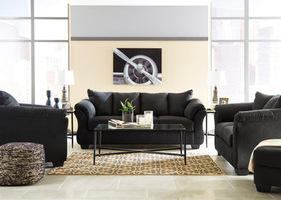 [SPECIAL] Darcy Black Living Room Set - Luna Furniture