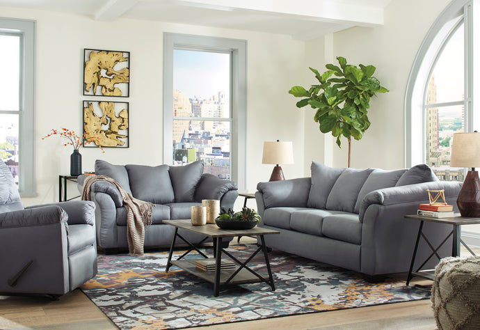 [SPECIAL] Darcy Steel Living Room Set | 75009